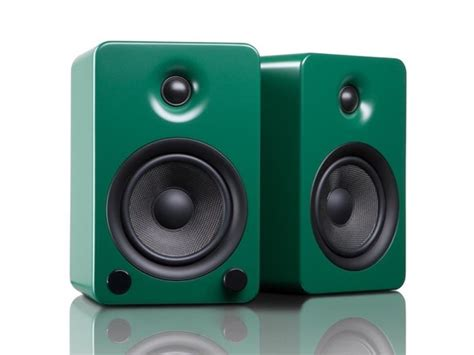 yu5 premium bluetooth bookshelf speakers pair