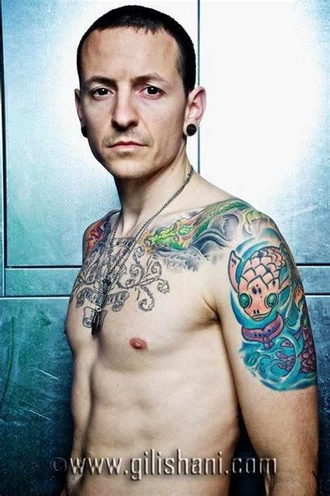 chester bennington tattoos wier magazin germany 2010 chester bennington