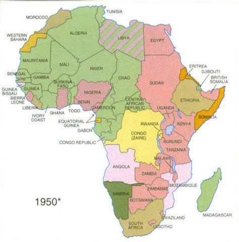 africa map 1960 map of africa 1960 pictures to pin on pinsdaddy