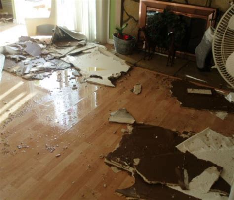 bathroom leaks through ceiling insurance water damage repair and water cleanup servpro of cape coral