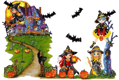 imagenes de halloween animadas con movimiento fondos animados para halloween