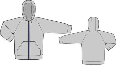 hoodie pattern download sweatshirt with hood sewing pattern 8005 made to
