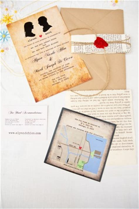 treasure map wedding invitations chicago wedding at the room from roscoe