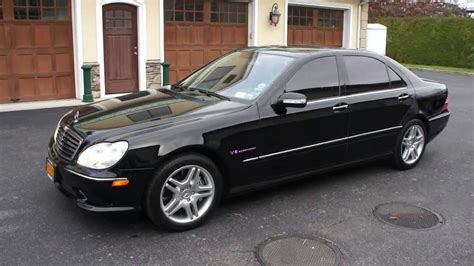 black mercedes s55 amg 2005 mercedes s55 for sale black black new tires