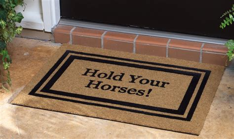 unique doormats what to look out for before buying a doormat ideas 4 homes