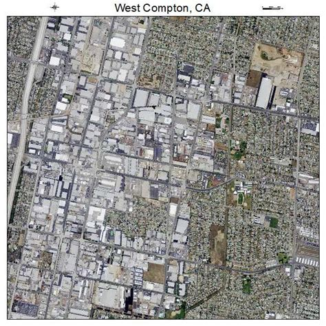 california map compton aerial photography map of west compton ca california