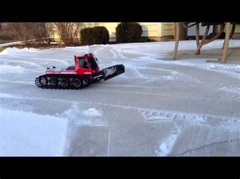 remote controlled snow plow kyosho blizzard sr youtube