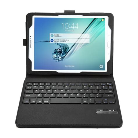 Samsung Galaxy Tab 2 Keyboard 2 in 1 detachable bluetooth tablet keyboard cross texture