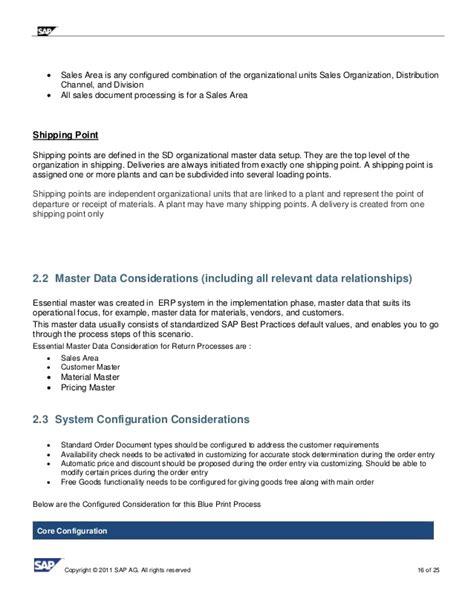 Sap Business Process Documentation Template 28 Images Sap Business Process Documentation Sap Business Process Documentation Template