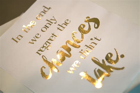Gold Foil Print gold foil printing tutorial ash and crafts