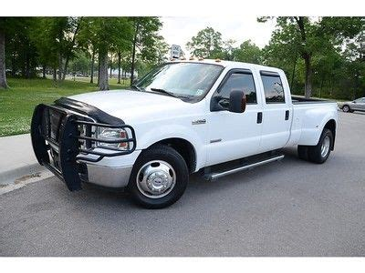 purchase used 2006 ford f350 dually diesel xlt 2wd low miles one owner clean carfax in baton