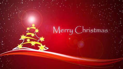 merry christmas animation card youtube