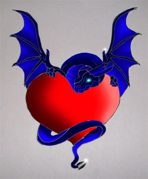 dragon heart by matkeevog on deviantart