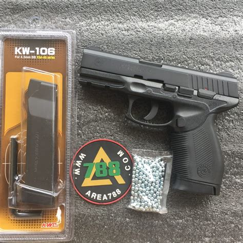 Airgun Airgun Kwc Taurus 24 rcf kwc taurus 24 7 nbb co2 4 5mm magazine kmb