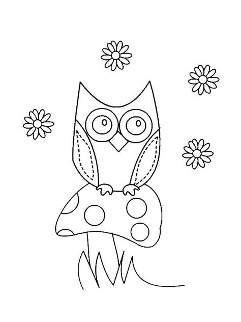 owl heart coloring page owl paper coloring and cuttings on pinterest