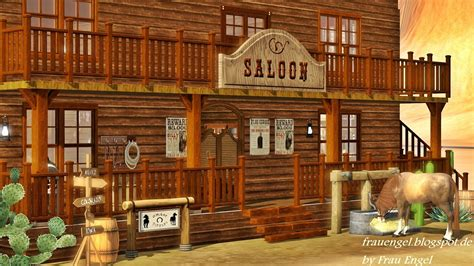 Country Western Home Decor by Entertainment World My Sims 3 Blog Saloon In The Wild West By Frau Engel