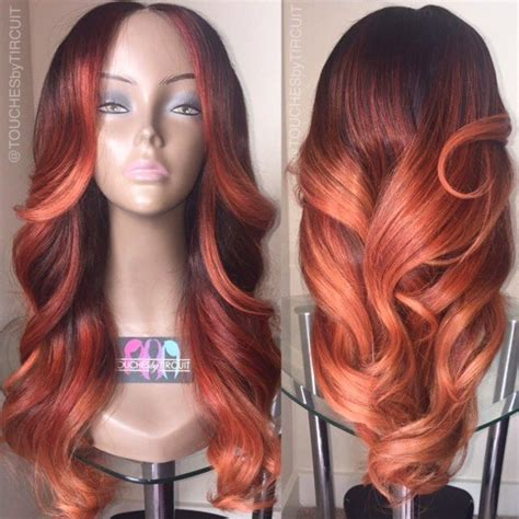 how to color weave best 25 colored weave hairstyles ideas on