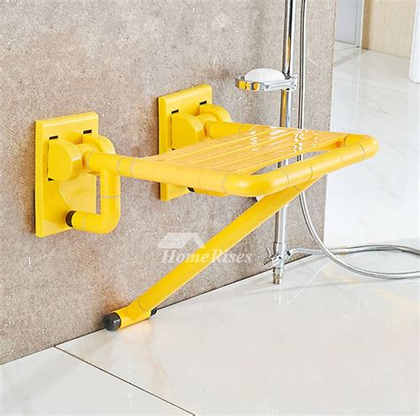 stainless steel folding shower seat xkm abs plastic wall mounted stainless steel folding