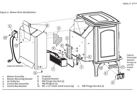Vermont Castings Wood Fireplace Inserts by Jotul 156431 Blower Kit