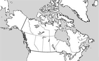 blank canada map free printable maps