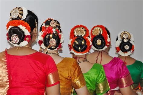 hairstyle for bharatanatyam dance pushpaarpanam dance group different hair styles and