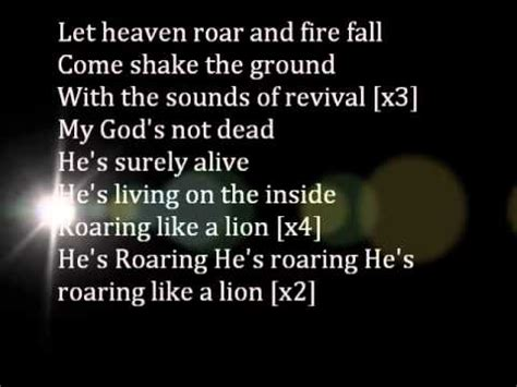 printable lyrics to god s not dead god s not dead by new boys lyrics youtube