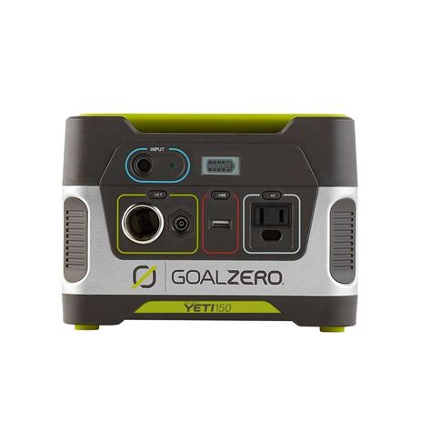 goal zero yeti 150 80 watt battery powered portable