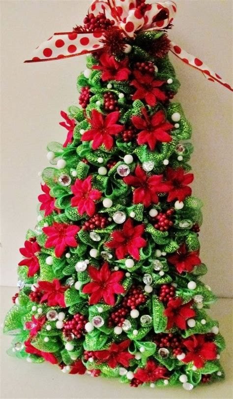 34 best deco mesh tree images on pinterest christmas