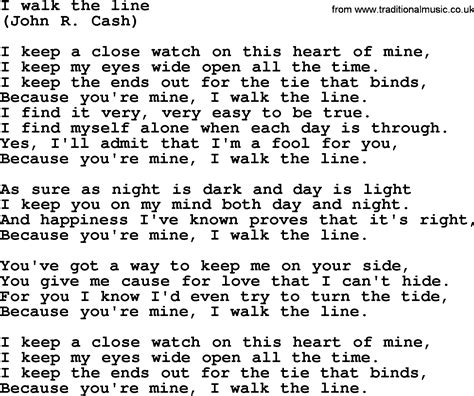 bruce springsteen song i walk the line lyrics