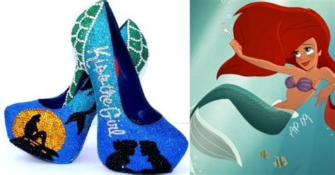 disney high heel shoes 25 disney princess inspired high heel shoes