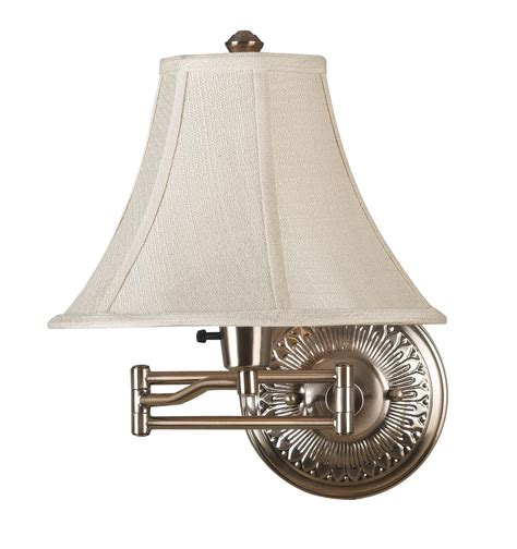swing arm light kenroy home 21395brbr amherst swing arm wall l