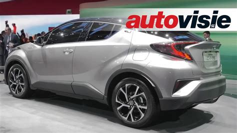 crossover toyota 232 ve 2016 toyota c hr is prius crossover by autovisie