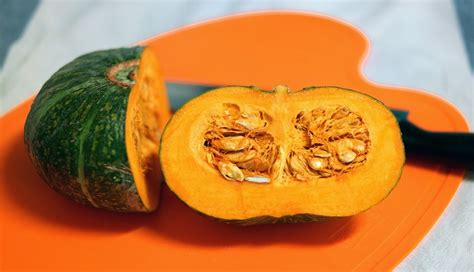 how to cut pumpkin for how to cut and peel a pumpkin easily