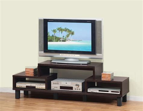 discount tv stands blocks contemporary tv stand in melamine finish marjen