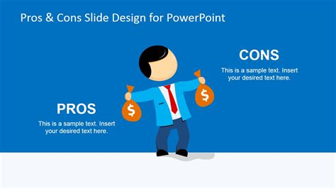 powerpoint templates for picture slideshow pros cons powerpoint template slidemodel