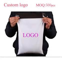 Bag Selfie Logo 4 2pcs 28 42cm 500pcs custom logo large polymailer bag mailing bags retail self seal plastic envelopes