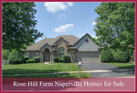 hill farm naperville homes for sale