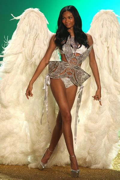 chanel iman victoria secret angel watch the model fitting for the 2011 victoria s secret