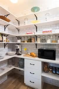 Shelf brackets kitchen transitional with corner shelves pantry shelves
