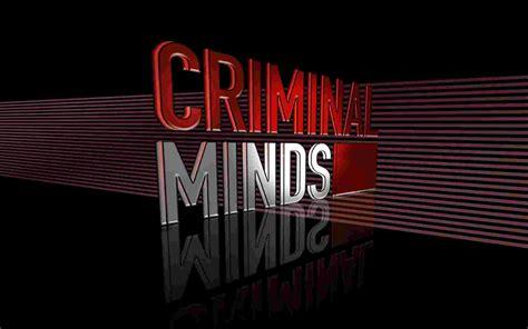 mind s criminal minds 3d logo criminal minds 16 wallpaper