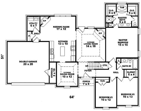 colonial style floor plans elmridge colonial style home plan 087d 0402 house plans