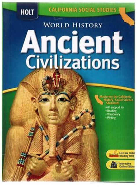 Science Alive 6 Textbook world civilizations homework help
