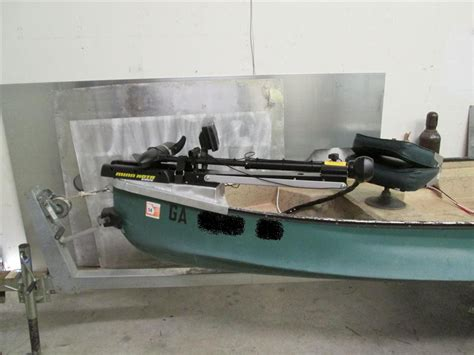 jon boat motor mount diy trolling motor mount for jon boat diy do it your self