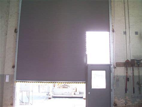 overhead door with door roll door with door