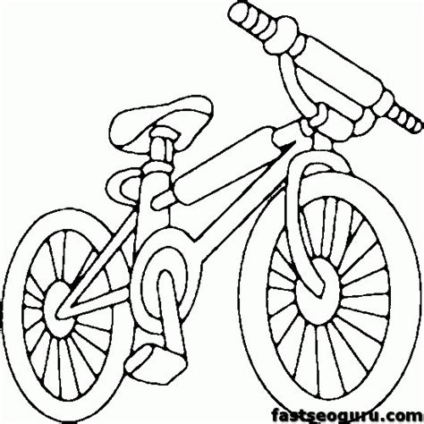 bmx bike coloring sheets coloring pages