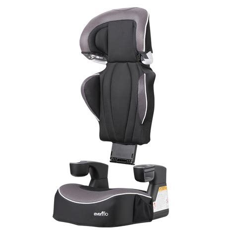 child booster seat without back evenflo big kid lx high back booster car seat