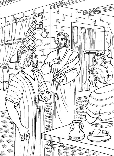 coloring pages jesus appears to the disciples here http ministry to children sunday school
