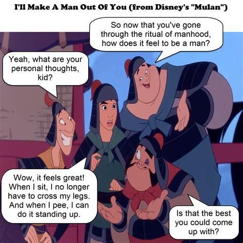 What A Joke Is Out Of by I Ll Make A Out Of You Mulan Joke Variatio By