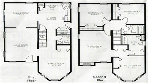 4 bedroom 2 story floor plans 4 bedroom 2 story house plans 2 story master bedroom two
