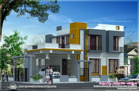 kerala home design kozhikode contemporary 2100 square feet home design home kerala plans